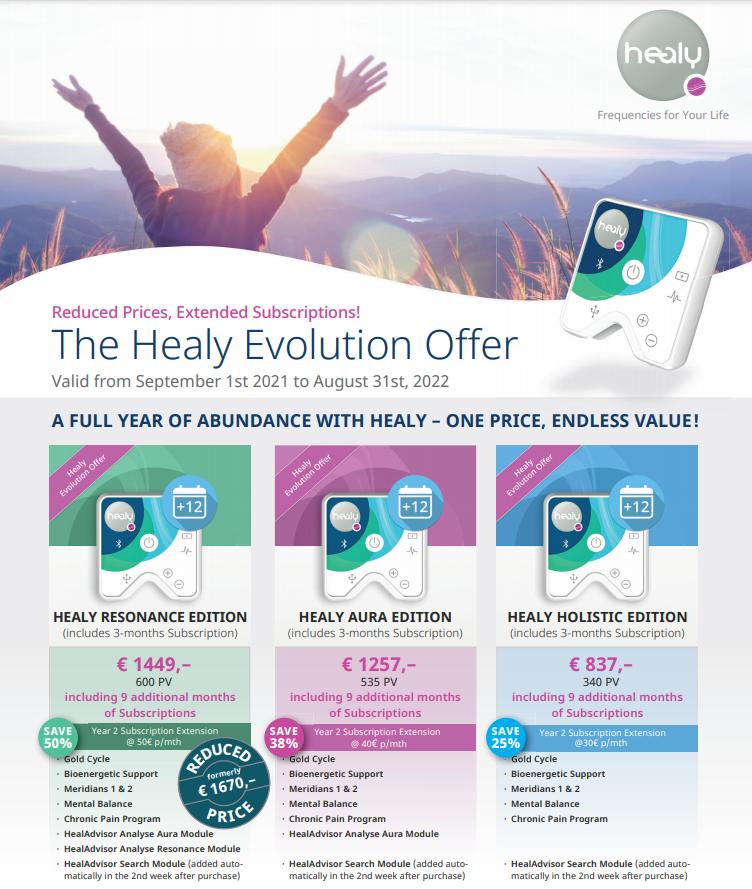 Healy Evolution offer 2021 (EN)